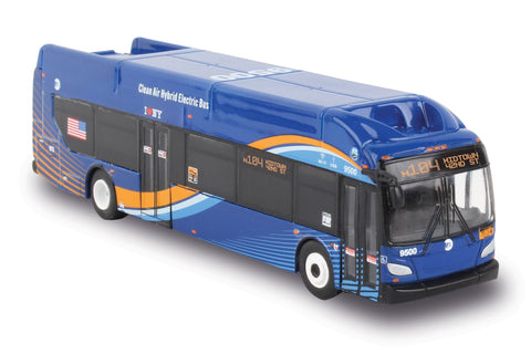 MTA NEW FLYER XCELSIOR TRANSIT ELECTRIC HYBRID BUS 1/87