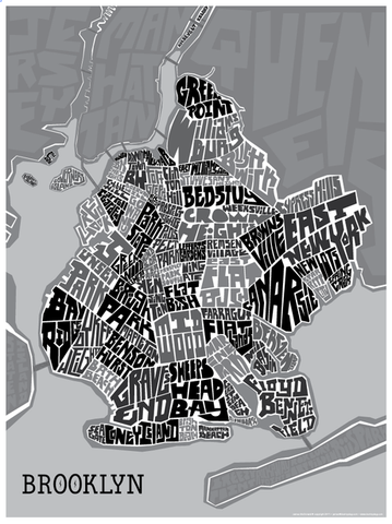 Print: Brooklyn Typography