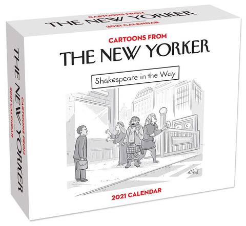 Cartoons from the New Yorker  Day-to-Day 2021 Calendar