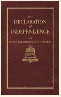 Declaration of Independence With Short Biographies of its Authors