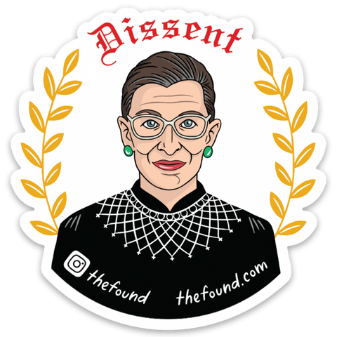 Sticker: RBG With Wheat Leaves