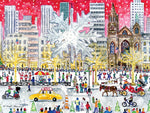 Christmas on 5th Ave Print