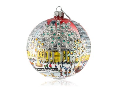 XMas 5th Ave Ornament