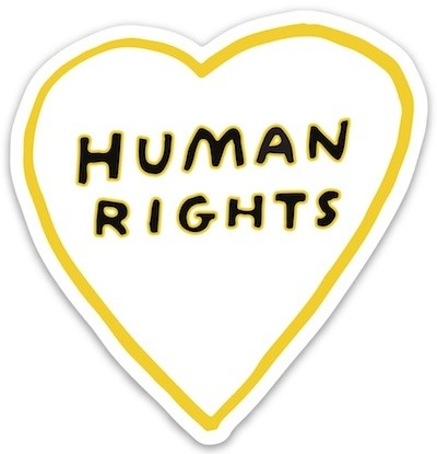 Sticker: Human Rights Heart