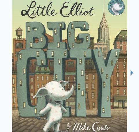 Little Elliot Boardbook