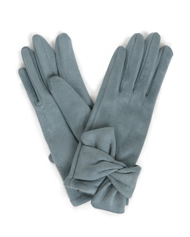 Henrietta Faux Suede Gloves