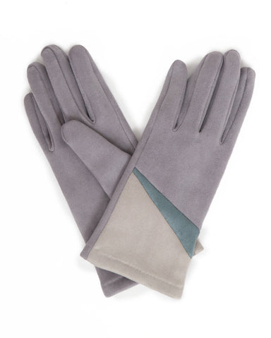 Ziggy Faux Suede Gloves
