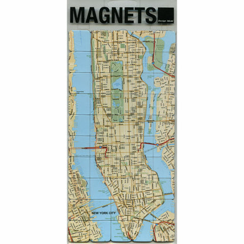 NYC Map Magnets