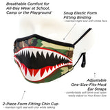Adult Face Mask: Flying Tiger Camouflage