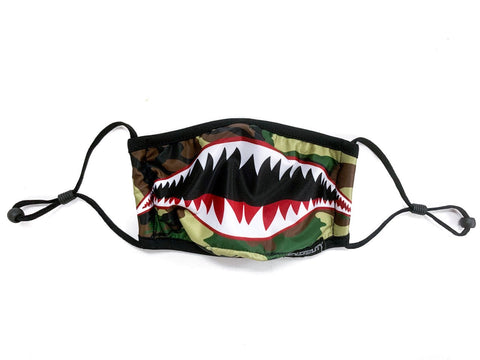 Kids Face Mask: Flying Tiger Camouflage