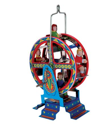Penny Toy Ferris Wheel Ornament