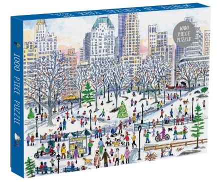 Winter in Central Park Puzzle