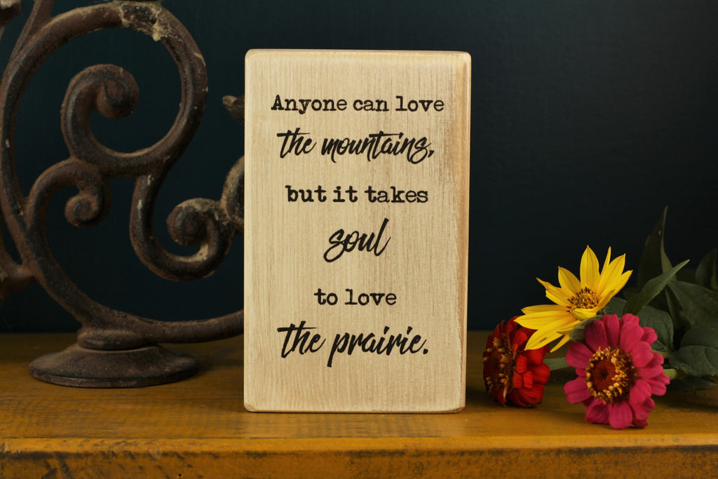 Wooden Quote Block