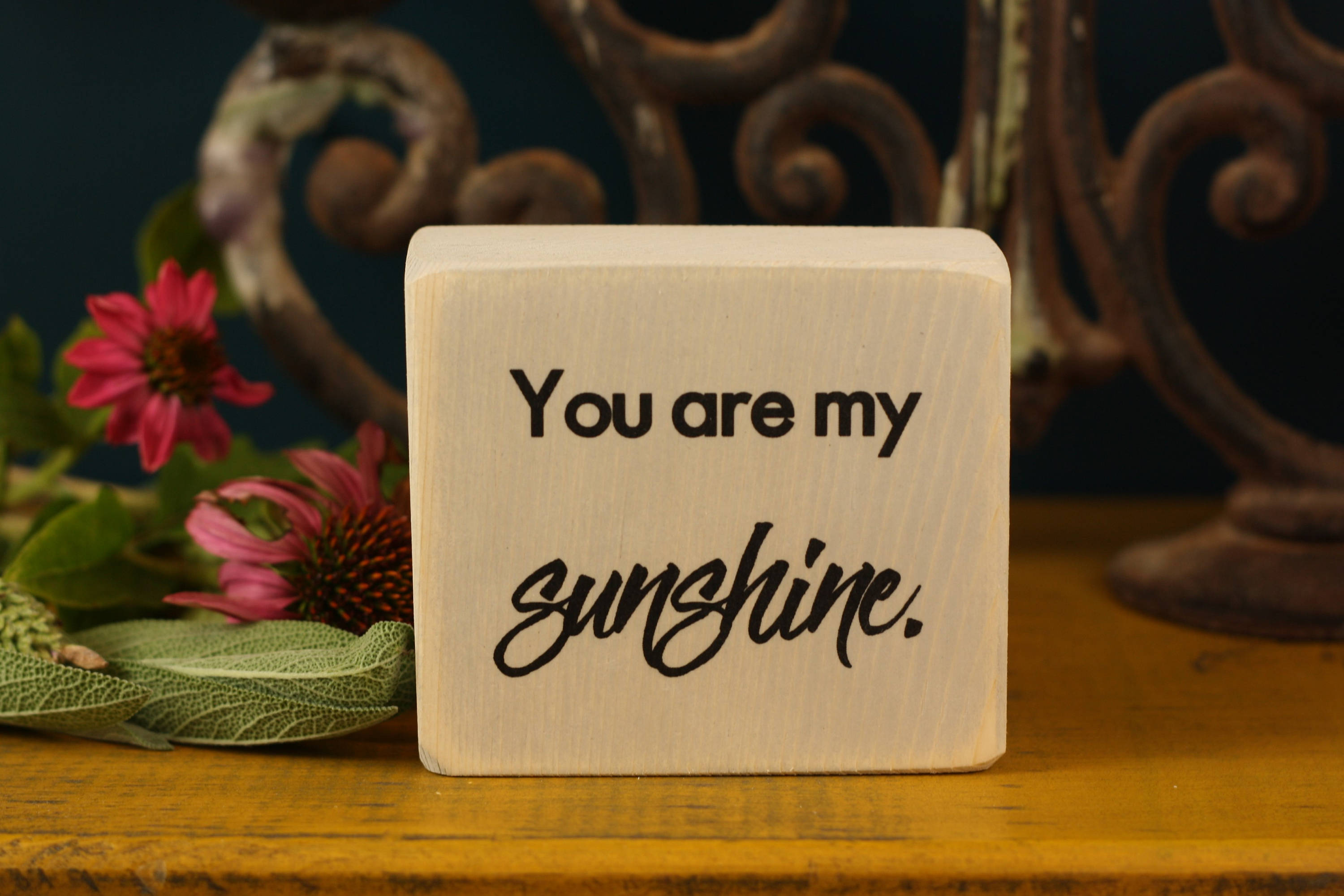 Small Wooden Sign - Sunshine
