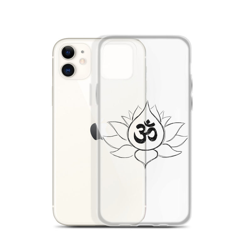 Lotus Flower iPhone Case (available for iPhone 6 to iPhone 11 Pro)