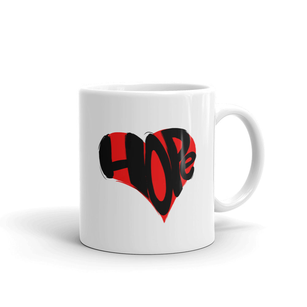 Hope in Your Heart Mug made in the USA
