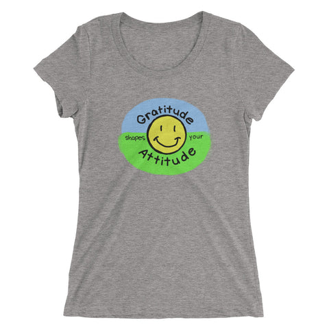 """Crazy Blessed Life"" Ladies' short sleeve Bella+Canvas t-shirt"