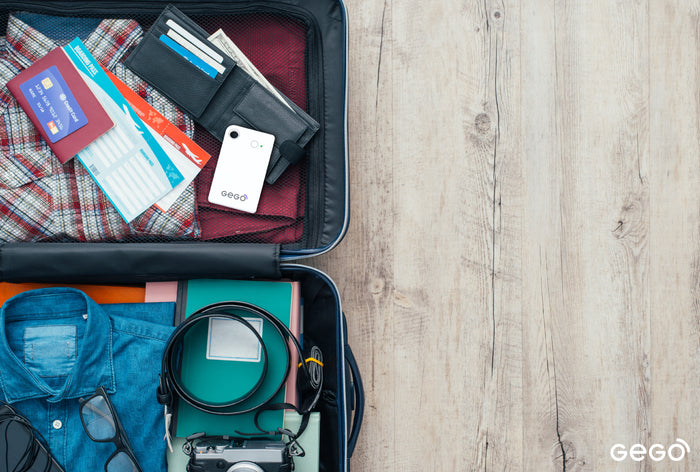 How GEGO Luggage Tracker Keeps All Your Valuables Safe