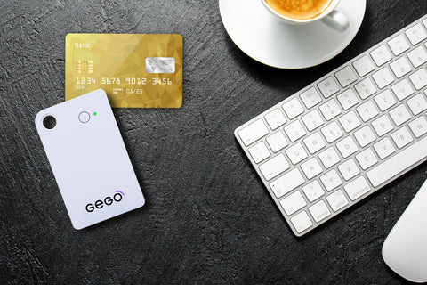 GEGO credit card size