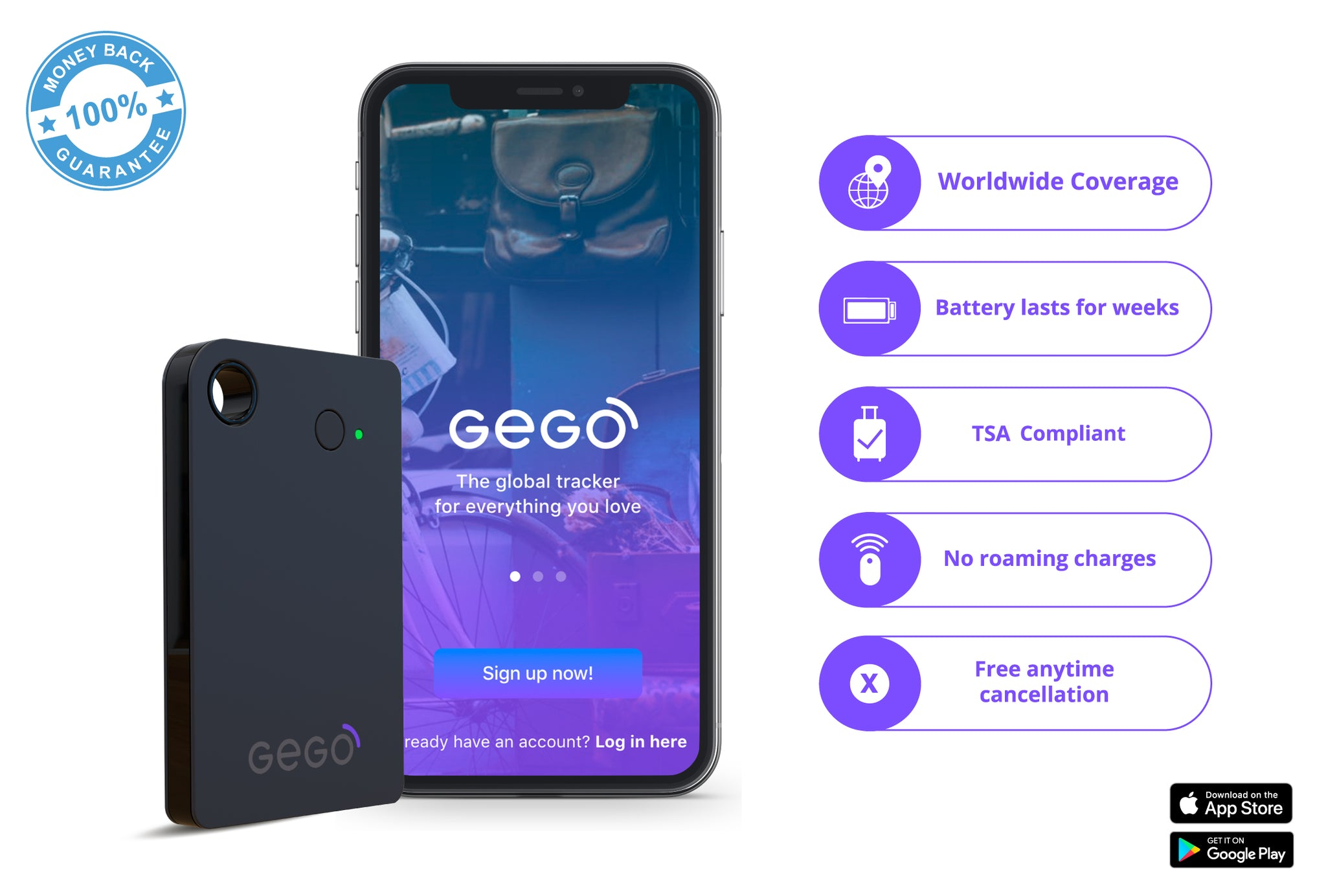 GEGO Global Tracking Device