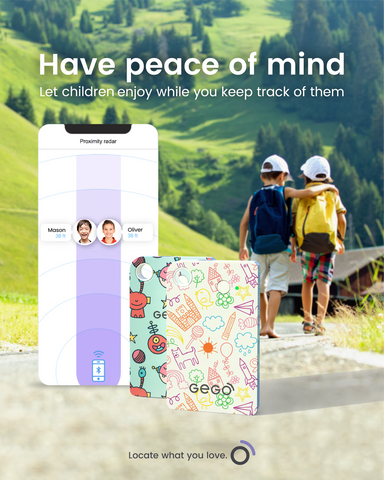 GEGO global tracker for kids