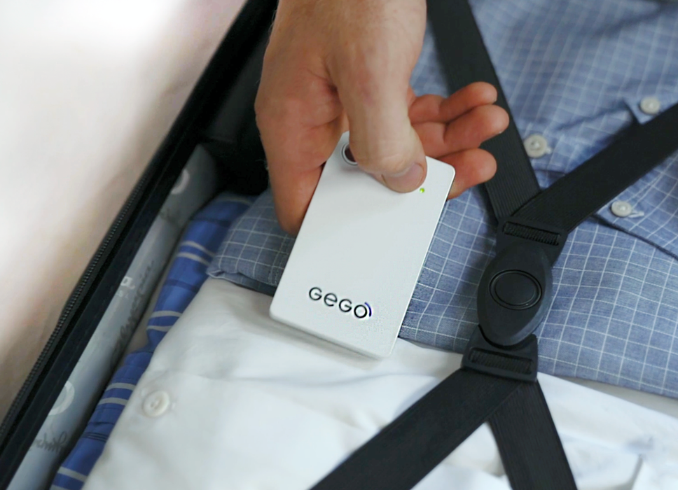 GEGO Luggage Tracker. Global Tracker
