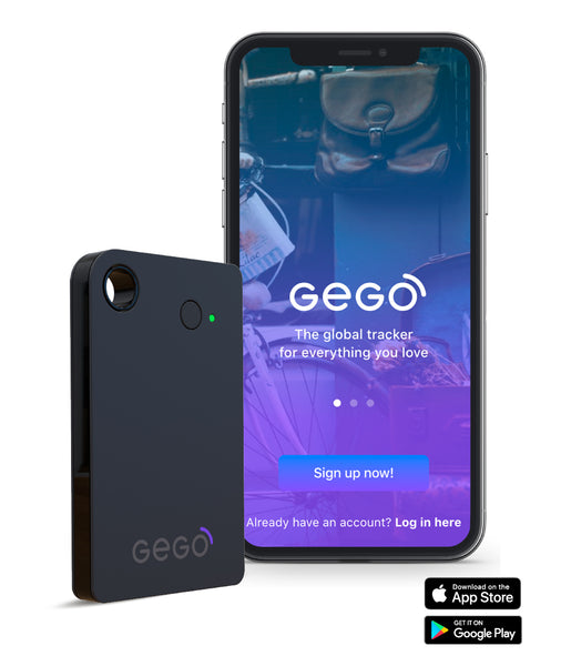 GEGO global tracker + 1 Year Service Plan