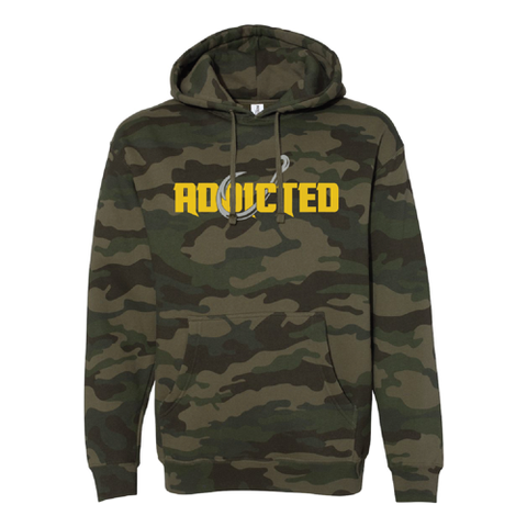 Premium Stealth Green Camo Addicted Hoodie (LIMITED EDITION)