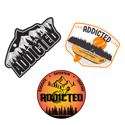 Addicted Life Sticker Decal Pack (Limited Edition)