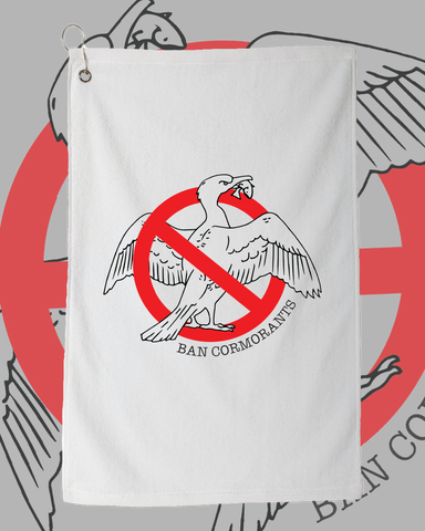 Ban Cormorants Bait Towel (LIMITED EDITION - Buoy 10, 2020)
