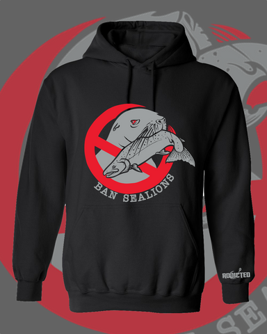 Ban Sea Lions Hoodie (LIMITED EDITION - Buoy 10, 2020)