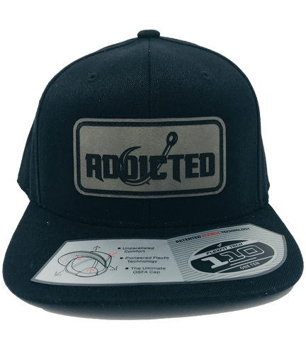 Black Addicted Patch Flatbill