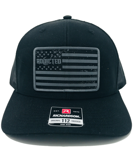 Black Stand Proud Snapback Hat (Limited Edition)
