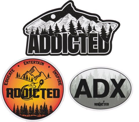 Addicted Blackout Out Decal Pack