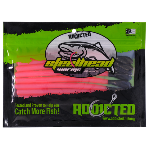 "The ""Brooks"" Steelhead Worms"