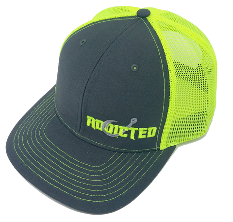 Addicted Neon Green Trucker