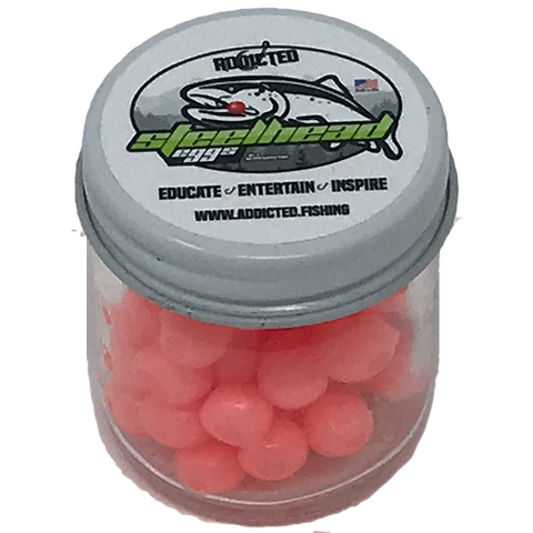 *NEW* Addicted Steelhead Egg - Clearwater Peach
