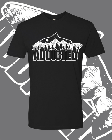 Addicted Fish Mountain T-Shirt