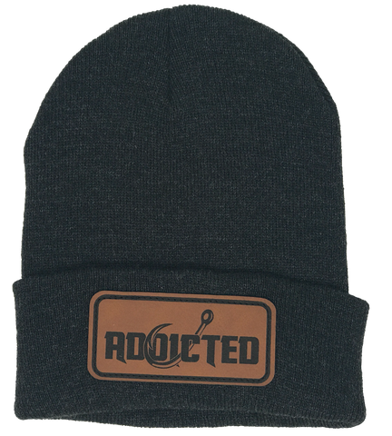 Addicted Patch Beanie Gray