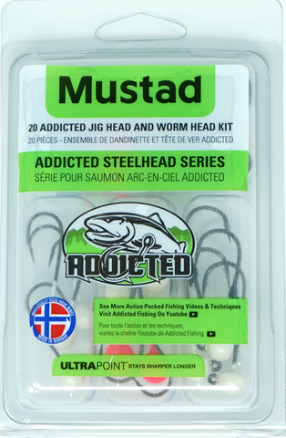 Addicted Steelhead Series Jig Head Kits