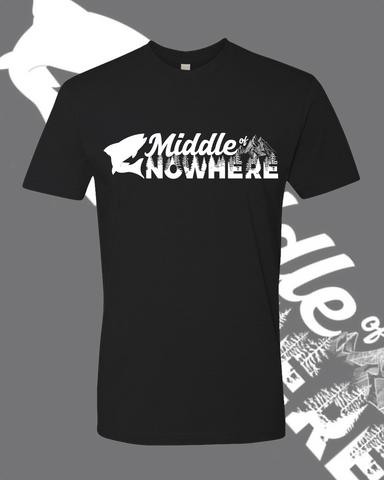 Middle Of Nowhere Black T-Shirt