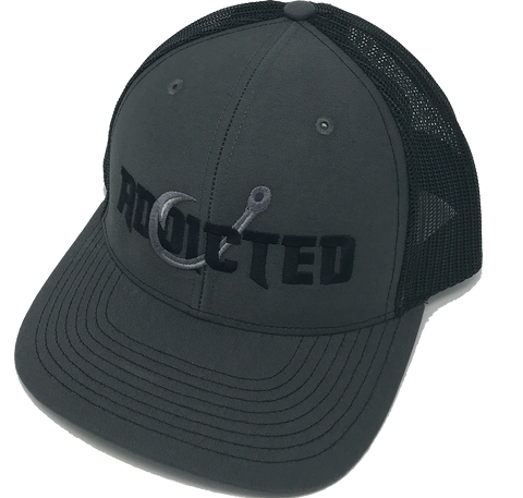 Addicted Murdered Out Trucker Cap