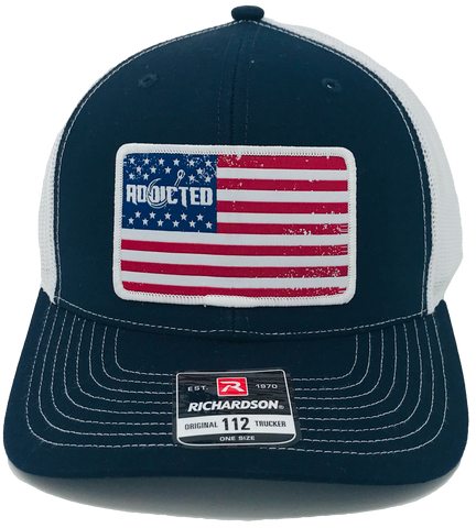 Navy Freedom Snapback Hat (Limited Edition)