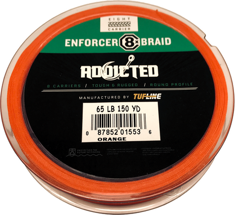 Enforcer Hi-Vis Orange 150 Yd Spool