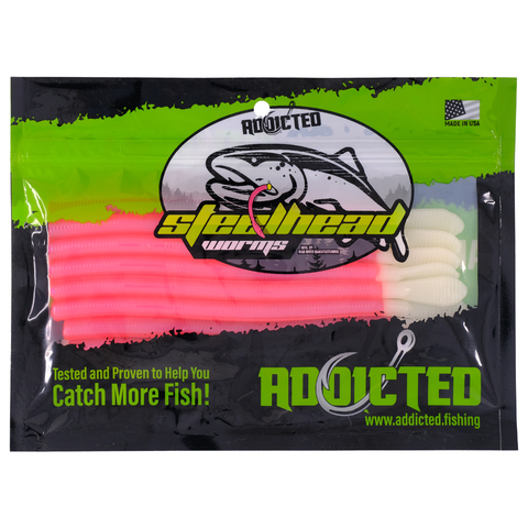 Red Fever Steelhead Worms
