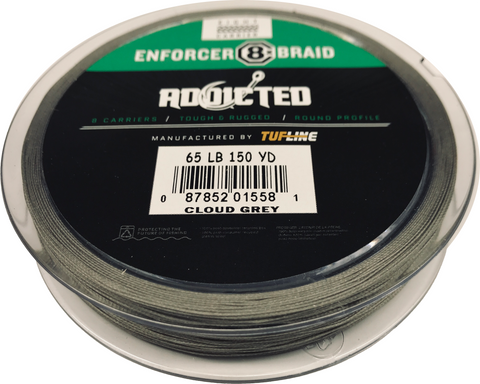 ADX Enforcer Cloud Gray 150 Yd Spool