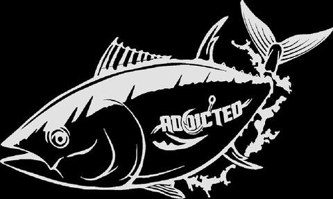 Tuna Decal White