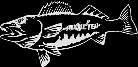 Walleye Decal White