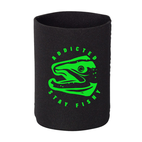 Stay Fishy Drink Koozie Black (Limited Edition)