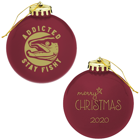 Stay Fishy Holiday Globe Ornament (Limited Edition)